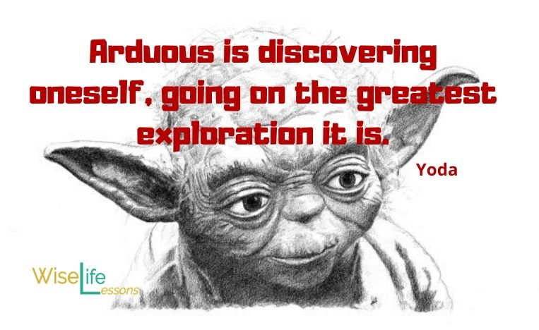 Arduous is discovering oneself, going on the greatest exploration it is.