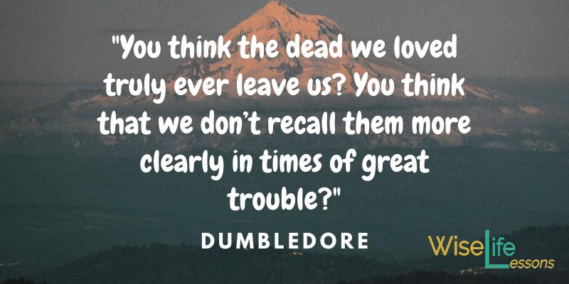 Dumbledore Quotes Light.