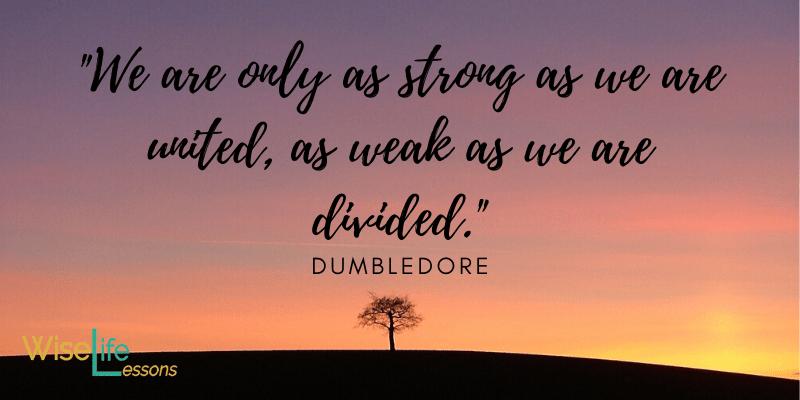 Dumbledore Quotes Light