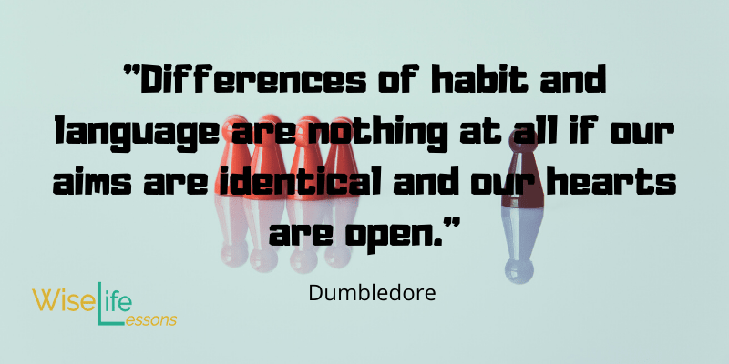 Dumbledore Quotes at Wise Life Lessons.