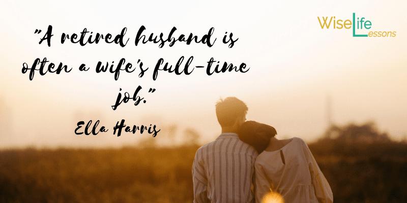a retired husband