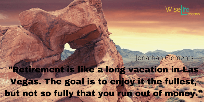retirement is like a long vacation