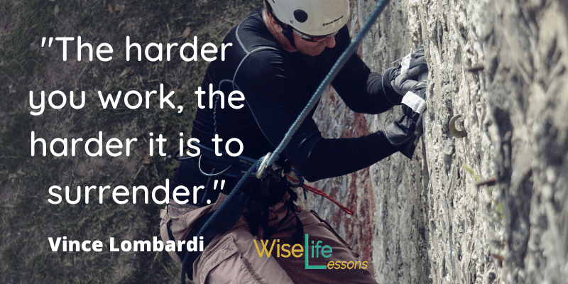 the harder you work